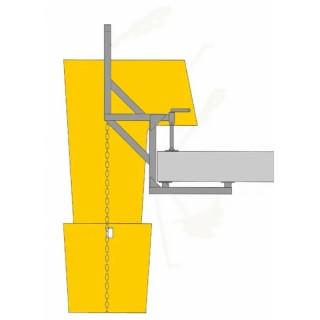 Рамка за улей Haemmerlin за насипни материали за хоризонтална плоча