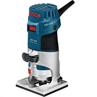 Фреза за кантове Bosch GKF 600 Professional 600W с куфар