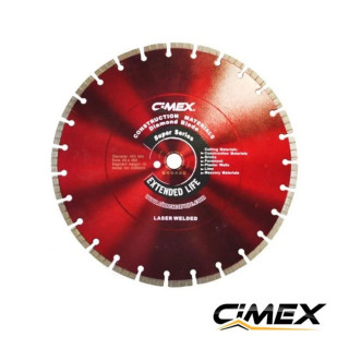 Диамантен диск за строителни материали 400 мм