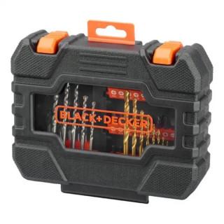 Black & Decker 50 части свредла, битове и накрайници