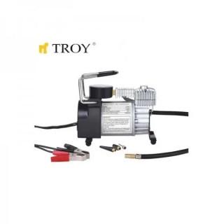 Компресор за гуми с манометър TROY 18150 150 Psi, 12V, 23A