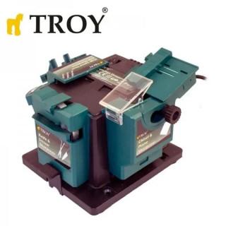 Машина за заточване TROY 17059 / с гъвкав вал / 65W