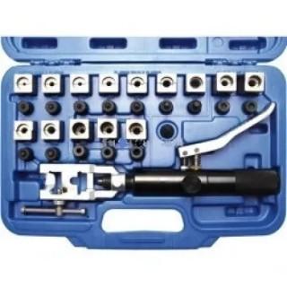 Професионален комплект с хидравличен инструмент за спирачни и други тръбички BGS Technic BGS8704