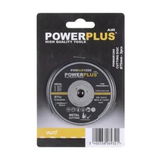 Диск за рязане POWER PLUS POWAIR1200 / 75мм