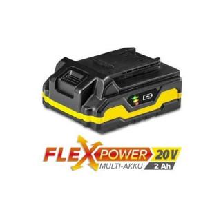 Акумулаторна батерия TROTEC Flexpower, 20 V, 2.0 Ah