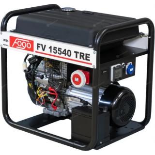 Бензинов трифазен генератор FOGO FV15540TRE 14.3kW с увеличен резервоар, AVR и ел. старт
