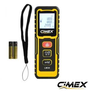 Лазерна ролетка 30 метра CIMEX LM30