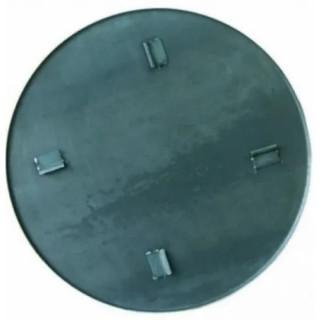 Тава за заглаждане за пердашки Bisonte 600 mm