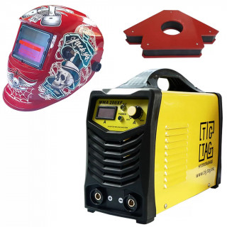 Инвенторен електрожен ММА 210XH с фотосоларна маска и магнит