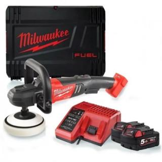 Акумулаторна полираща машина Milwaukee M18FAP180-502X