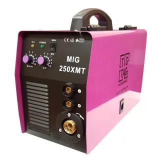 Телоподаващ апарат комбиниран MIG250XMT - Комплект с 10л. бутилка.