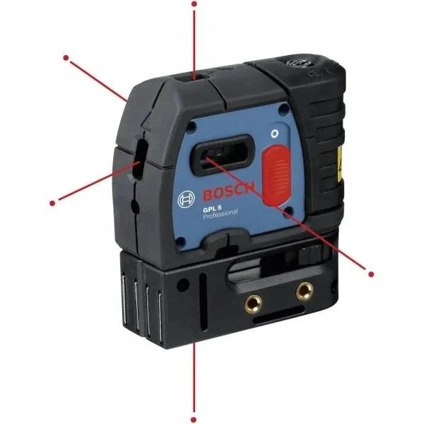 Лазерен точков нивелир Bosch Glp 5 - 30м