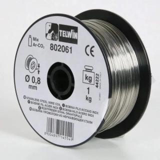Заваръчна тел от неръждаема стомана Telwin 802061 ф0.8мм