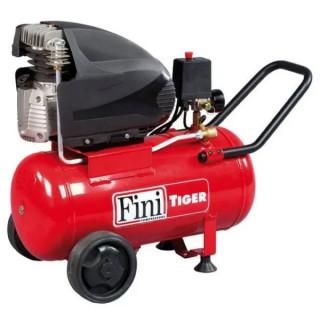 Монофазен бутален компресор Fini Tiger 265 M /25л., 1.5KW, 10 bar/