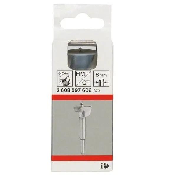 Свредло челен фрезер - твърдосплавно на Bosch 24.0 mm