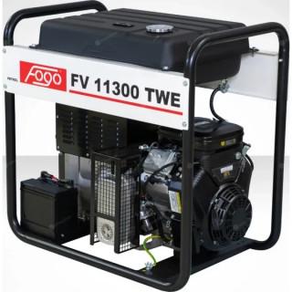 Бензинов трифазен генератор за заваряване FOGO FV11300TWE с уголемен резервоар и ел. старт / 8kW