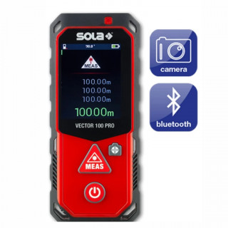 Ролетка лазерна противоударна Sola Vector 100 Pro