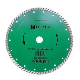 Диамантен диск за строителни материали ZIPPER FS250DST