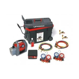 Комплект за вакуумиране и пълнене ROTHENBERGER ROCADDY 120/120 Digital