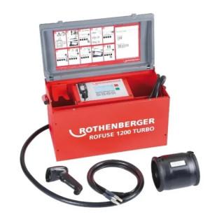 Машина за електродифузно заваряване на фитинги ROTHENBERGER ROFUSE 1200 TURBO