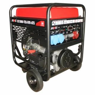 Бензинов монофазен генератор SENCI SC-13000 EVO, 11 kW, 45 л