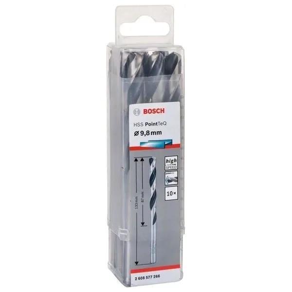 Свредло HSS за метал PoinTec 9.8 mm на Bosch комплект 10 бр.