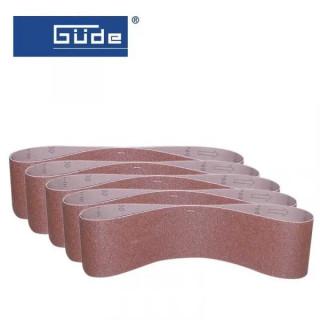 Шлайфащи ленти K80 SB 150x1220 / GÜDE 38361 / 5бр