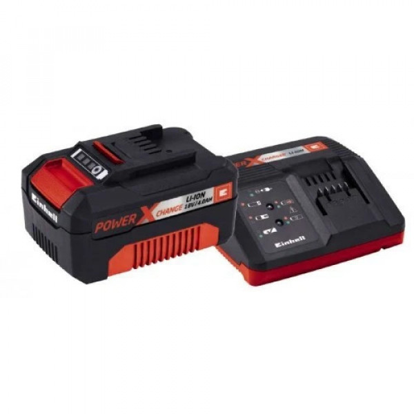 Стартов комплект Einhell Power X-Change 18 V / 4,0 Ah