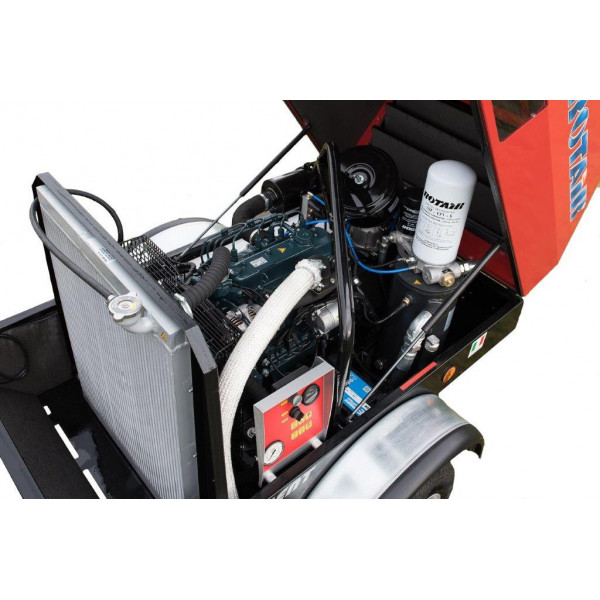 Мобилен винтов компресор Rotair MDVN 82K