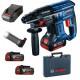 Акумулаторен перфоратор Bosch GBH 180-LI с куфар и зарядно