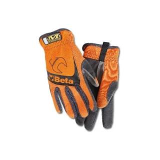 Работни ръкавици, оранжеви, 9574O- M размер, Beta Tools