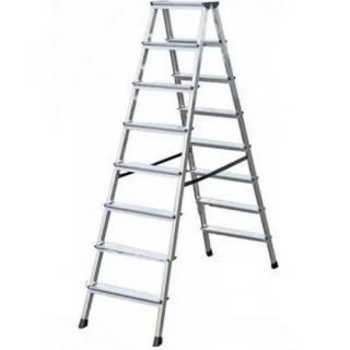 Алуминиева двустранна стълба KRAUSE DOPLO 2x8