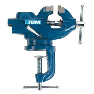 Менгеме Fervi прецизно инструментално с въртяща се маса 50 мм, 0146/60