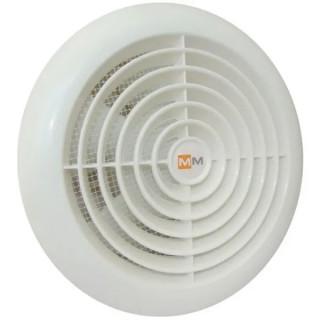 Вентилатор за стенен монтаж MMotors, ф100 мм, 95 м3/h, MM 100, Light