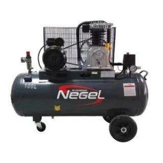 Бутален компресор с ремъчно задвижване Negel 51002 100 л