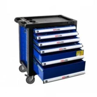 Оборудван шкаф за инструменти BGS Technic 6 отделения, 234 части