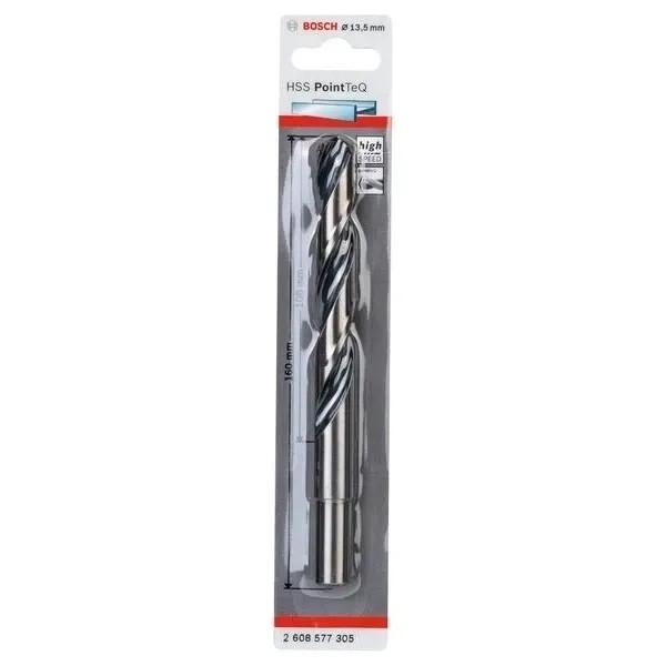 Спирално свредло за метал Bosch HSS PoinTec 13.5 mm