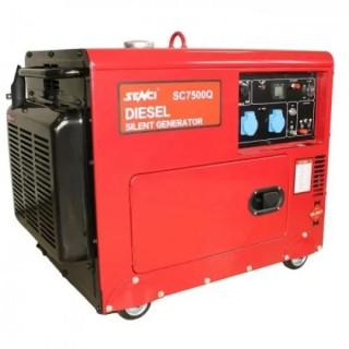 Шумоизолиран генератор SENCI SC-7500Q