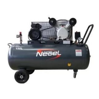 Бутален компресор с ремъчно задвижване Negel 51005 10 Bar 150 л