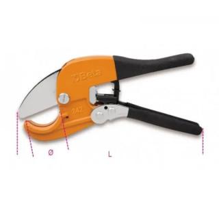 Ножица с тресчотка за пластмасови тръби 42мм, Beta Tools