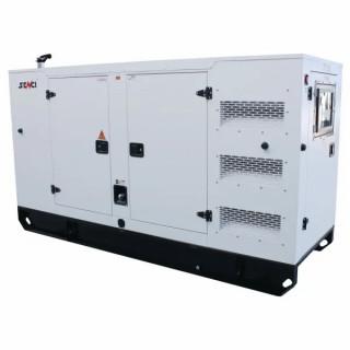 Шумоизолиран дизелов трифазен генератор SENCI SCDE 250YCS, 250 kVA