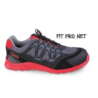 Работни обувки от мрежеста материя с повишена проветривост, 7340R - 45 размер, Beta Tools