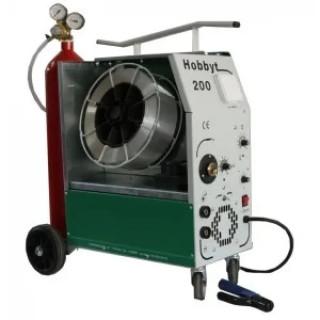 Комбинирано телоподаващо устройство Struna Hobbyt 200 / MIG + MMA + TIG  25-180 A