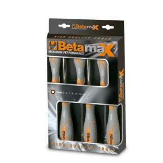 Комплект вложки шестостен дълбоки на отвертки удължени (6 бр) в представителна опаковка, 944BX/D6, Beta Tools