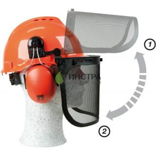 Предпазен шлем за косене