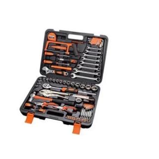 Комплект ръчни инструменти в куфар 78 части CR.V.
