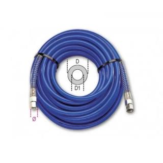 """Пневматичен спирален маркуч с дурометърна твърдост по шор на 1/4""""L -9 Beta Tools 1915D 8X12"""