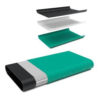 """Plexistab 204N Маркуч PVC за отводняване двуслоен плосък с PES армировка ф 38 мм 1 1/2"""" 240 g/m"""