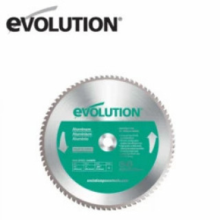 Диск за рязане на алуминий EVOLUTION 355 mm 80 T