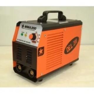 Инверторен електрожен АИГ DEL MMA 200 / 200 А